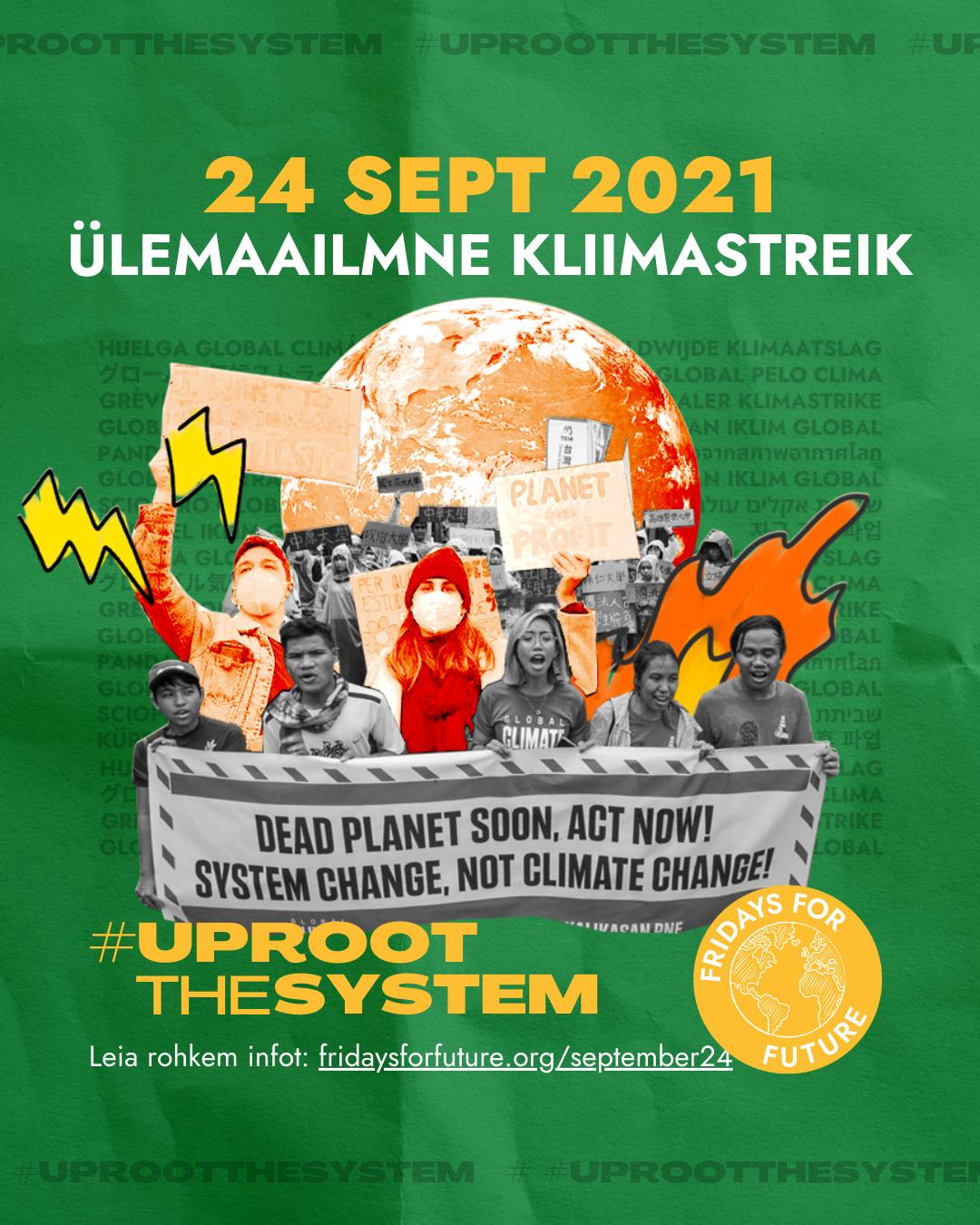 24. september ülemaailmne kliimastreik