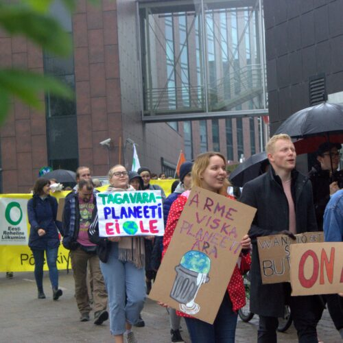 noored keskkonnaaktivistid