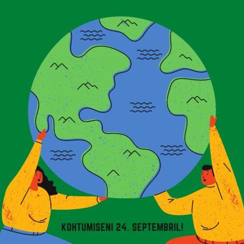 Üleilmne kliimastreik 24. septembril!